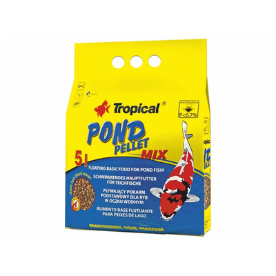 TROPICAL-Pond Pellet Mix S 5L/650g