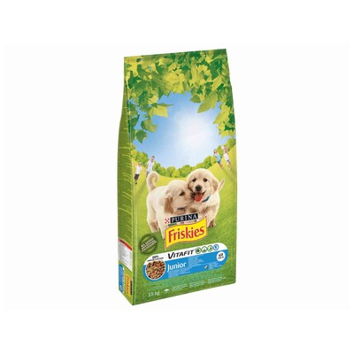 FRISKIES Dog granule JUNIOR 15kg