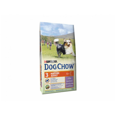 DOG CHOW MATURE ADULT jahňací 14kg
