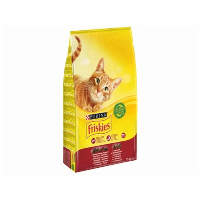 FRISKIES Cat gr.adult meats10kg