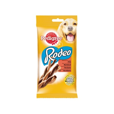 RODEO Pedigree s hovädzím 8ks 140g